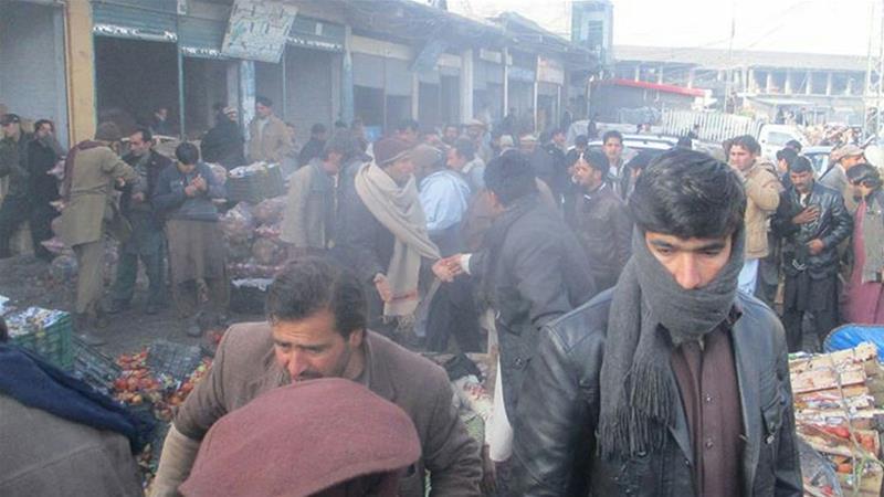 Pakistan'da pazar yerine saldırı: 20 ölü