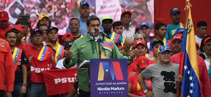 Venezuela için toplanan ülkelerden 'seçim' çağrısı
