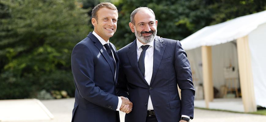 Ermenistan Başbakanı Paşinyan Macron'un 'Ermeni soykırımı' kararından memnun