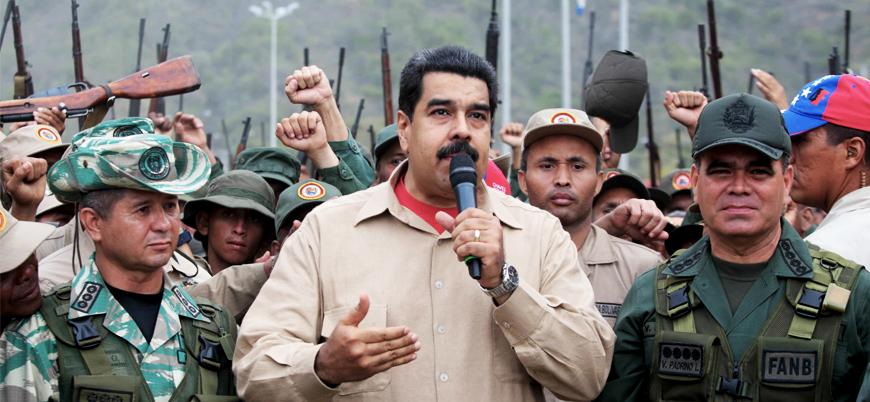 ABD'den Venezuela ordusuna çağrı: Maduro'yu terk edin
