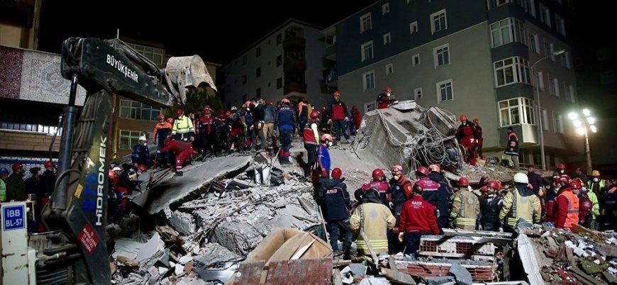 Kartal'da çöken binada ölü sayısı 21'e yükseldi