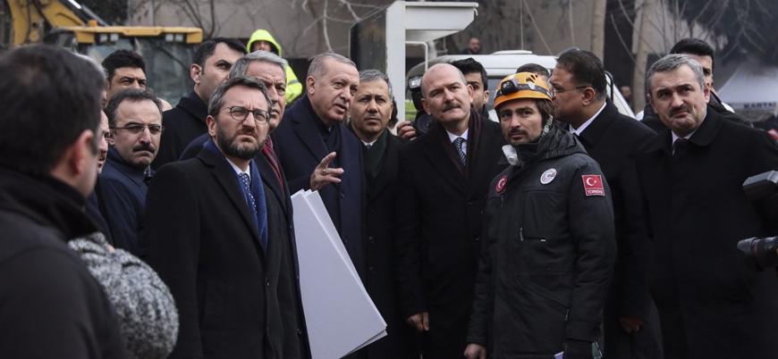 Erdoğan'dan 'çöken bina' açıklaması: Sabrımız taştı