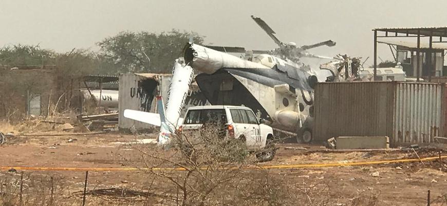 Etiyopya'ya ait askeri helikopter Sudan'da düştü: 13 ölü ve yaralı