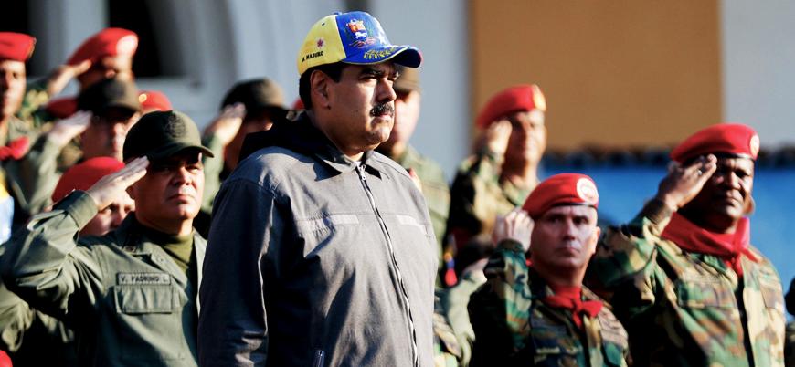 Venezuela'da ülke tarihinin en büyük askeri tatbikatı başladı