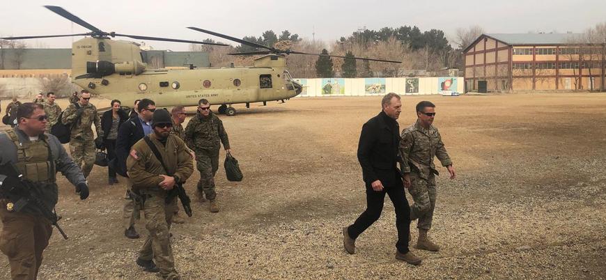 ABD Savunma Bakanı Patrick Shanahan'dan Afganistan ziyareti