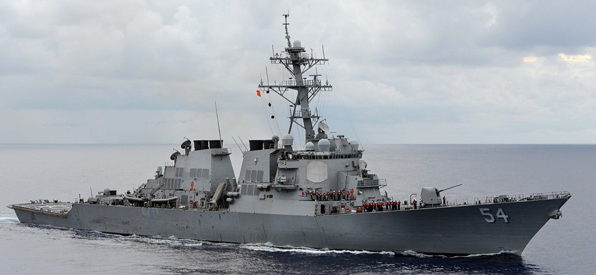 İki ABD savaş gemisi tartışmalı Güney Çin Denizi'ne girdi