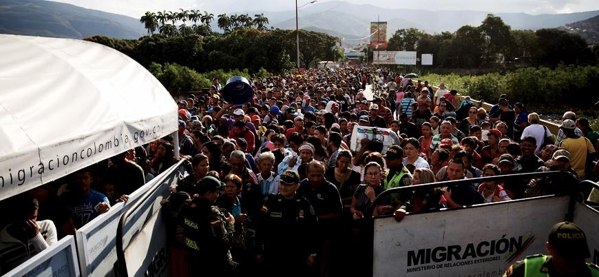 BM: Her 6 Venezuelalıdan biri ülkesini terk etmiş olacak