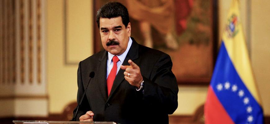 Maduro: Venezuela'daki krizden ABD sorumlu