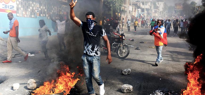 Haiti'de gösterileri fırsat bilen mahkumlar firar etti