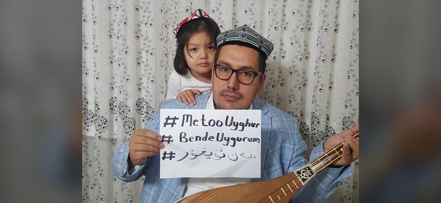 Uygur Türklerinden Çin'e karşı '#MeTooUyghur' kampanyası