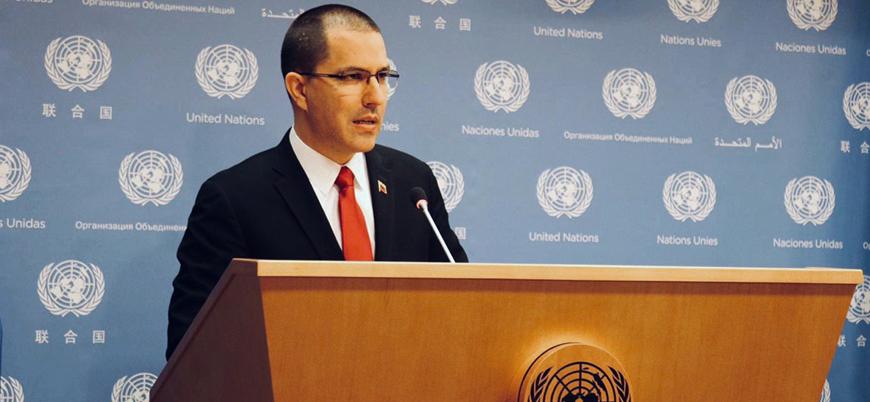Venezuela'dan Birleşmiş Milletler'de ABD'ye karşı girişim