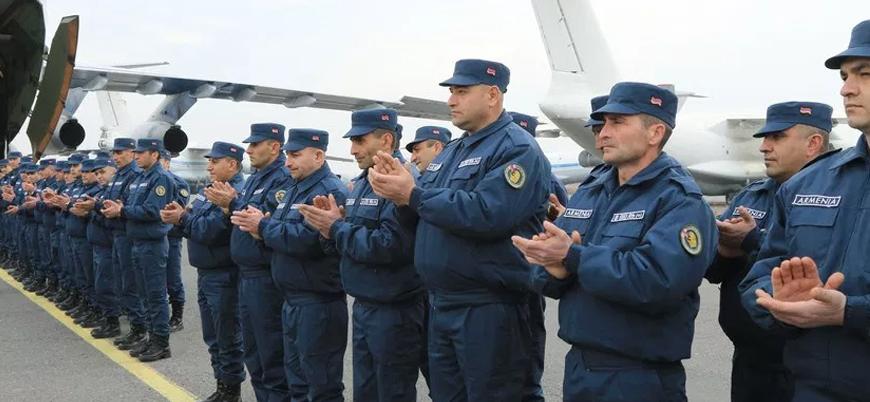 Ermenistan ordusu Rusya'nın daveti üzerine Suriye'ye asker gönderdi
