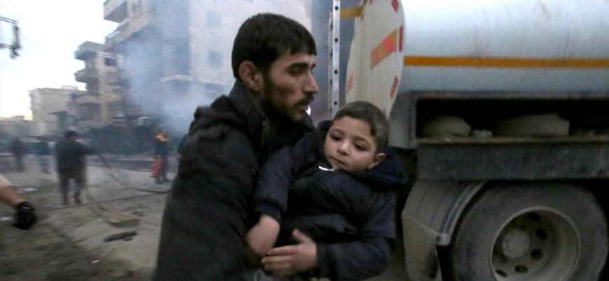İdlib'de sivilleri hedef alan çifte bombalı saldırı: Onlarca ölü ve yaralı var