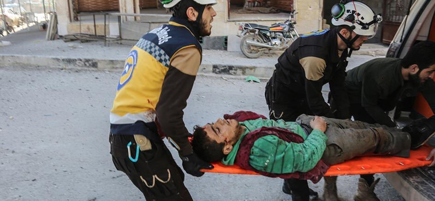 Esed rejimi İdlib'i vurmaya devam ediyor: En az 5 sivil yaşamını yitirdi