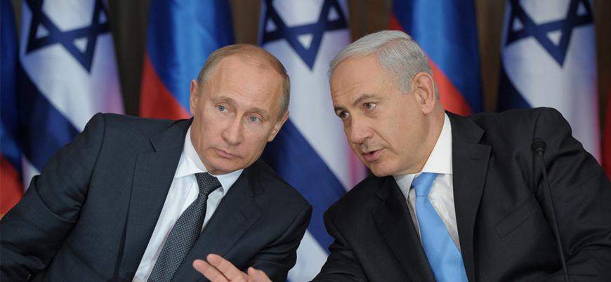 Netanyahu ve Putin'den Moskova'da Suriye konulu görüşme
