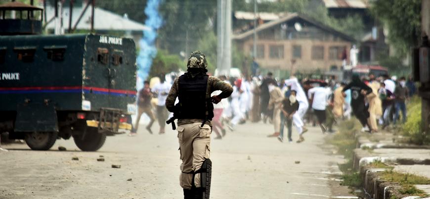 Hindistan kontrolündeki Cammu Keşmir'de bombalı saldırı