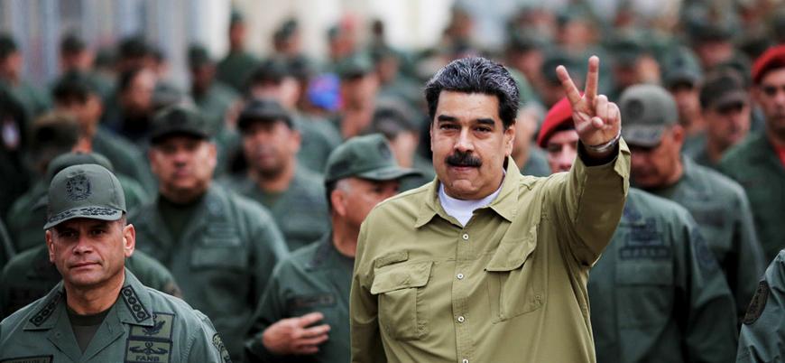 Maduro'dan orduya 'darbecilere' karşı birlik çağrısı