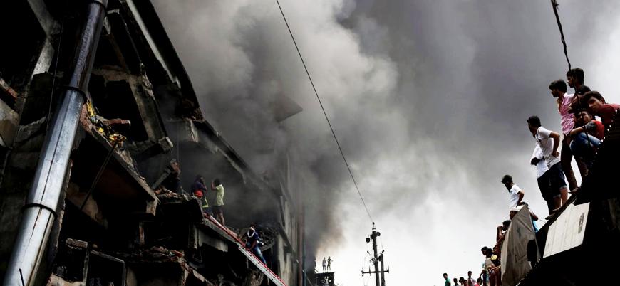 Bangladeş'in başkenti Dakka'da yangın: En az 69 ölü