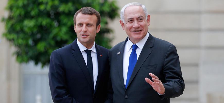 Macron: Fransa Siyonizm karşıtlığı ile antisemitizmi eşdeğer sayacak