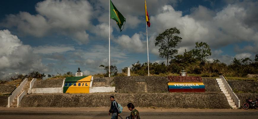 Venezuela, Brezilya sınırını kapattı