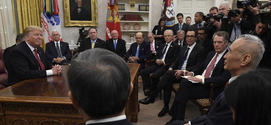Ticaret Savaşı: Trump Çin Başbakan Yardımcısı ile bir araya gelecek