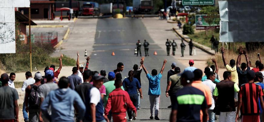 Venezuela ordusu sınırda ateş açtı: En az 2 ölü