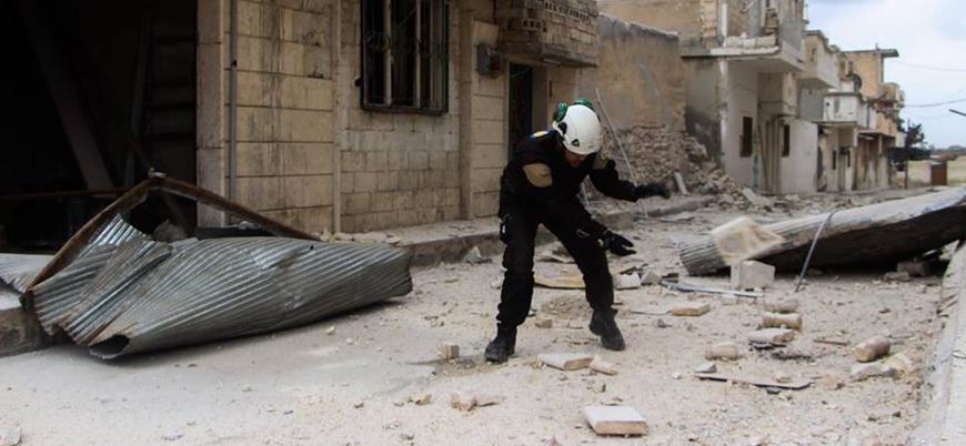 İdlib'in güneyinde sivilleri hedef alan Esed rejimi saldırıları devam ediyor