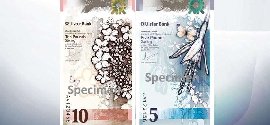 Kuzey İrlanda 'dikey banknotları' piyasaya sürmeye hazırlanıyor
