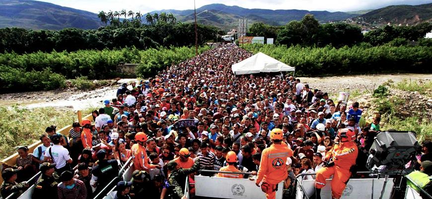 BM: 3,4 milyon insan Venezuela'yı terk etti