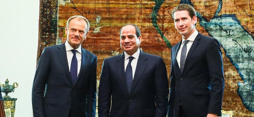 Belçika medyası: AB Mısır diktatörünü kucakladı