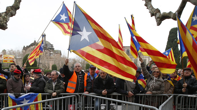 Bağımsızlık referandumuna giden Katalonya, Avrupa'dan destek istedi
