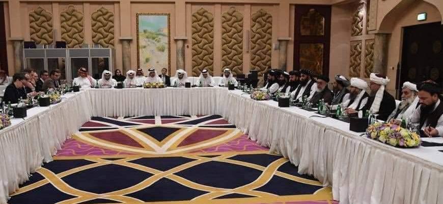Taliban kurucularından Molla Birader Katar'da Afganistan barış görüşmelerine katıldı
