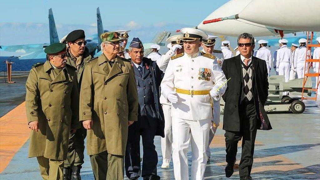 'Rus emperyalizmi' Libya'ya uzandı: Halife Hafter'li gizli plan