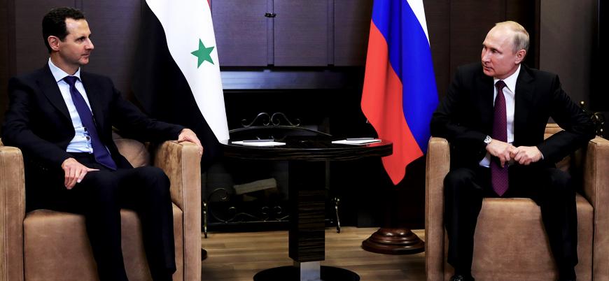 Esed rejimi ve Rusya'dan ABD'ye: Askerlerinizi Suriye'den çekin