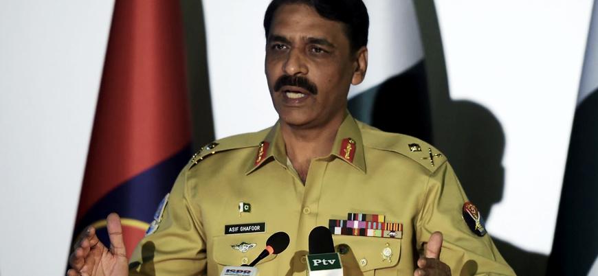 Pakistan ordu sözcüsü: Siyasetin bittiği yerde savaş başlar