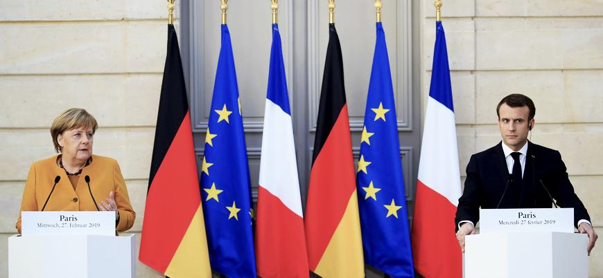 """Merkel ve Macron bir araya geldi: """"Brexit ertelenebilir"""""""