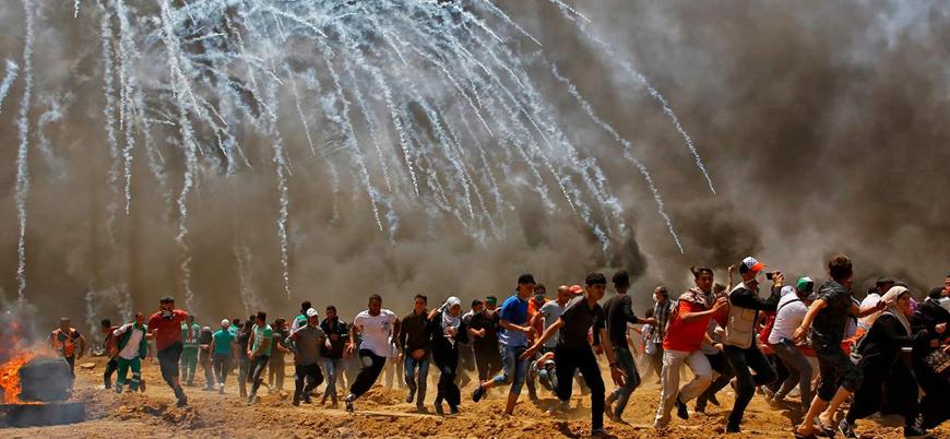 """""""İsrail'in Büyük Dönüş Yürüyüşü'nde Filistinlileri öldürmesi savaş suçu sayılabilir"""""""