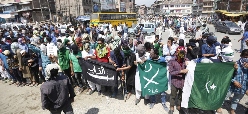 Hindistan Keşmir'de Cemaat-i İslami'yi yasaklama kararı aldı