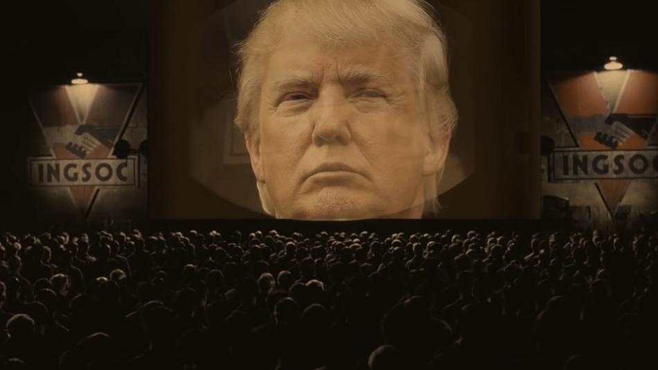 """""""1984"""" satışları Trump ile zirve yaptı"""