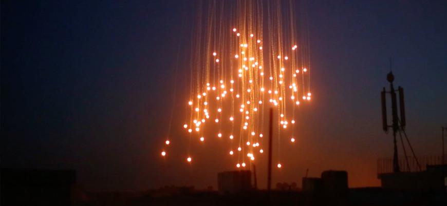 ABD IŞİD'in kontrolündeki son bölgeleri fosfor bombasıyla hedef aldı