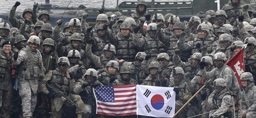 Kuzey Kore tepkiliydi: ABD ve Güney Kore ortak askeri tatbikatları durduracak