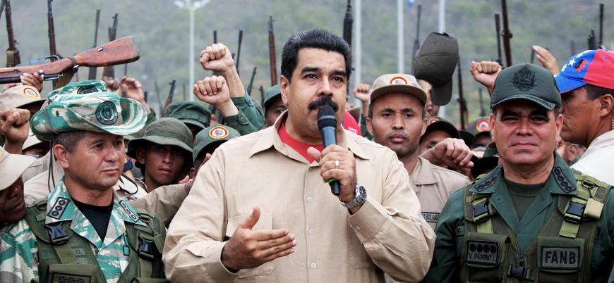 Guaido: 600 ordu mensubu Maduro'yu terk etti