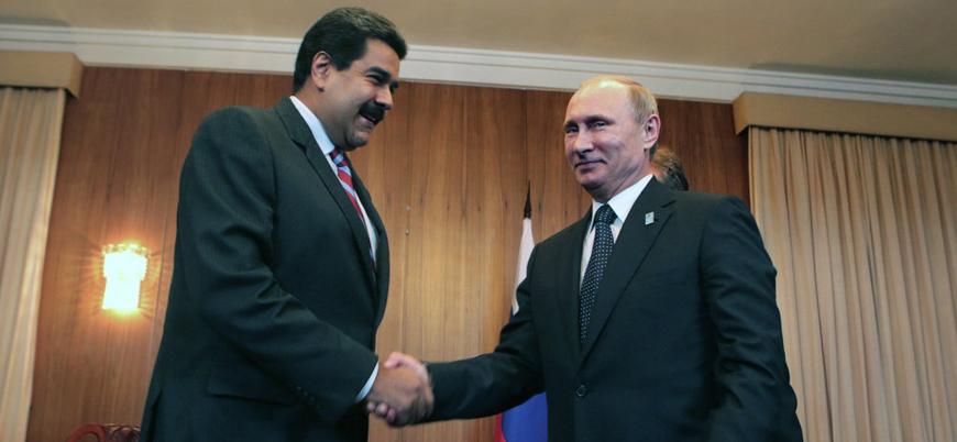 Rusya: Venezuela'ya askeri müdahale olmaması için her şeyi yaparız