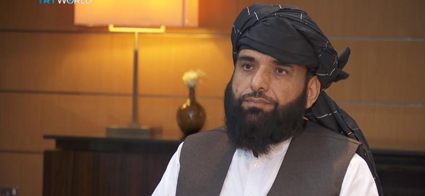 Taliban Siyasi Ofis sözcüsü Süheyl Şahin TRT World'e röportaj verdi