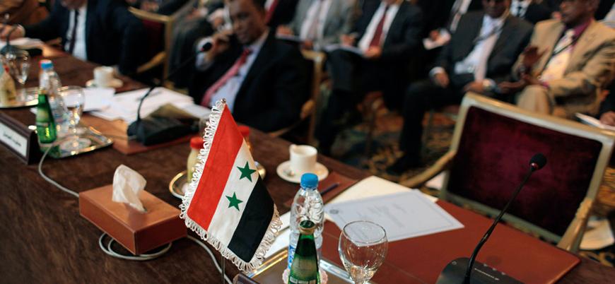 Esed ile normalleşme adımları: Rejim Arap Birliği toplantısına katıldı
