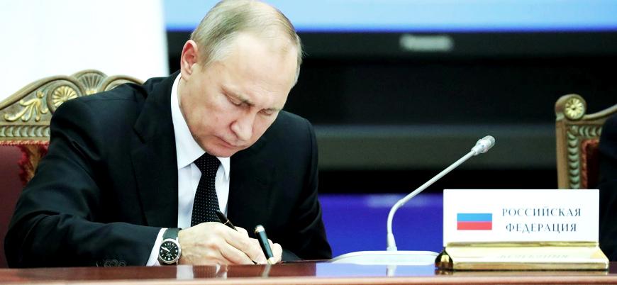 Putin imzayı attı: Rusya INF anlaşmasını askıya aldı