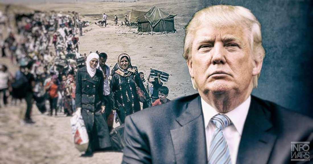 """Trump'tan """"Suriye'de güvenli bölge"""" açıklaması"""