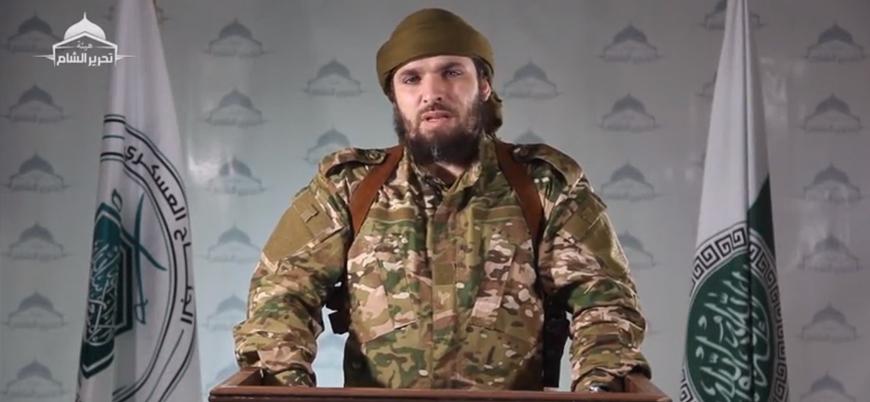 HTŞ'nin askeri sorumlusundan muhaliflere 'Esed rejimi ve Ruslara karşı savaşa devam' çağrısı