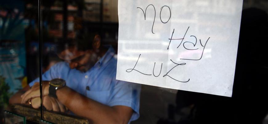 Venezuela'da elektrik kesintisi hayatı olumsuz etkiliyor