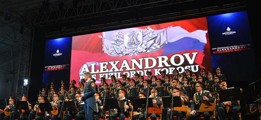 """Kızıl Ordu Korosu'ndan Türkiye'de konser: """"İki ülke arasındaki dostluğun göstergesi"""""""